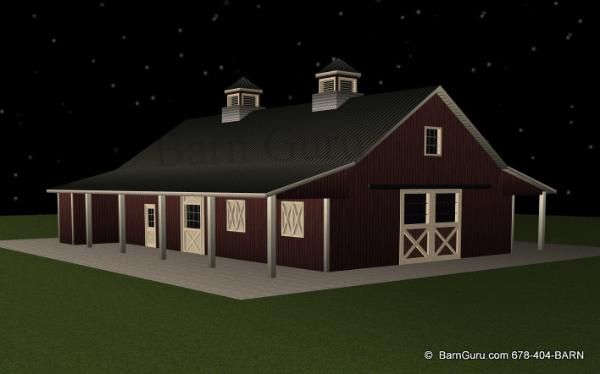 Barn Plans7 Stall Horse Designs In Ga Barns Pinterest