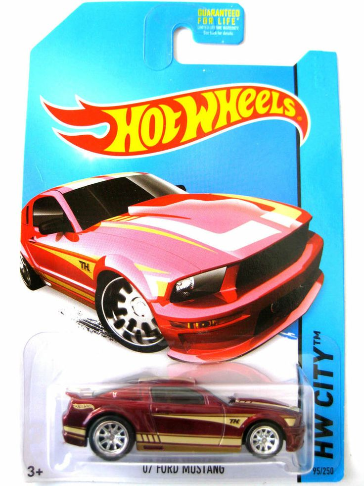 2014 Hot Wheels Super Treasure Hunt '07 FORD MUSTANG RED