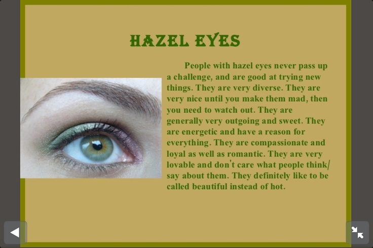 Hazel Eyes Facts | www.imgkid.com - The Image Kid Has It!