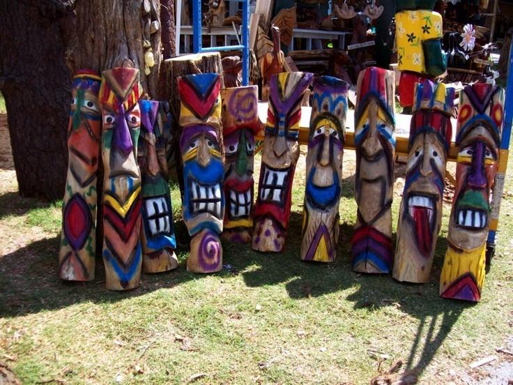 Tiki chainsaw carving pinterest