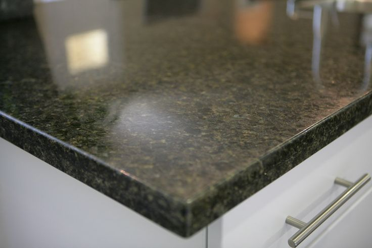 Countertop D Edge : GRANITE KITCHEN COUNTERTOP - This granite slab kitchen countertop ...