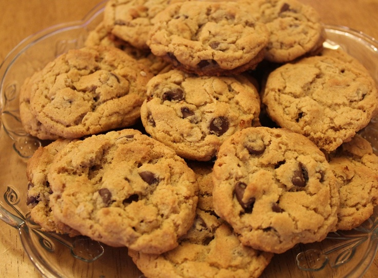 Peanut Butter Chocolate Chip Cookies | Cookies | Pinterest