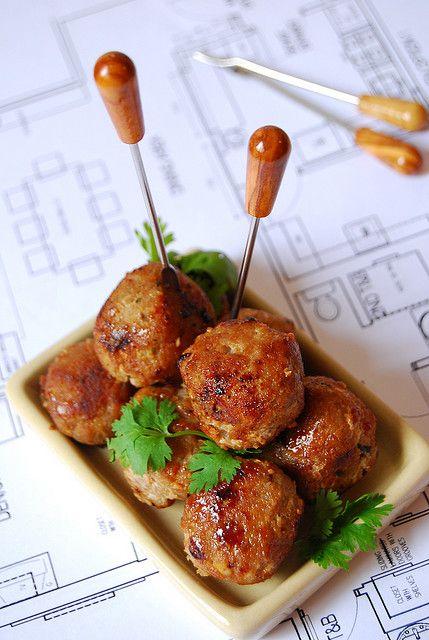 asian meatballs 009 by 80 Breakfasts,
