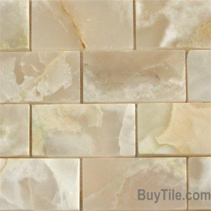 classic white onyx for backsplash kitchens pinterest