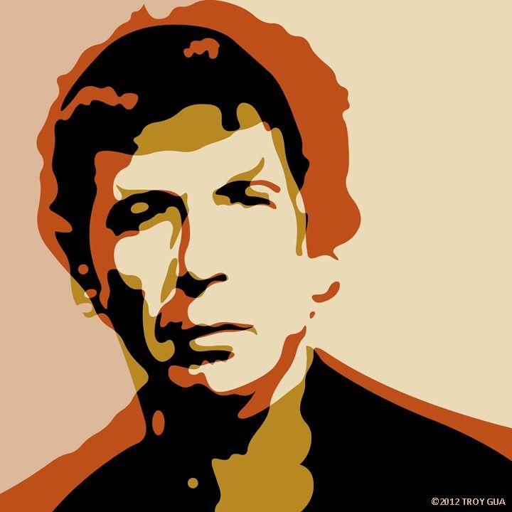 ... Leonards, or Who By Fire (Leonard Cohen + Leonard Nimoy) by Troy Gua