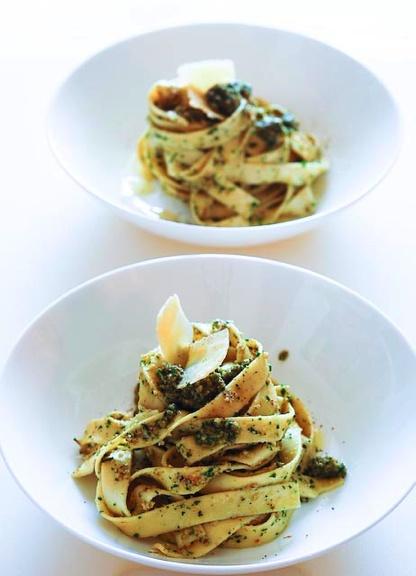... parsley pesto spaghetti with parsley pesto and sausage recipe