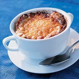 French Onion Soup Gratinee from America´s Test Kitchen