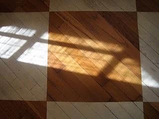 d.i.y. whitewashed floors, #floors