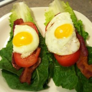 bacon egg lettuce tomato | Clean Eating | Pinterest