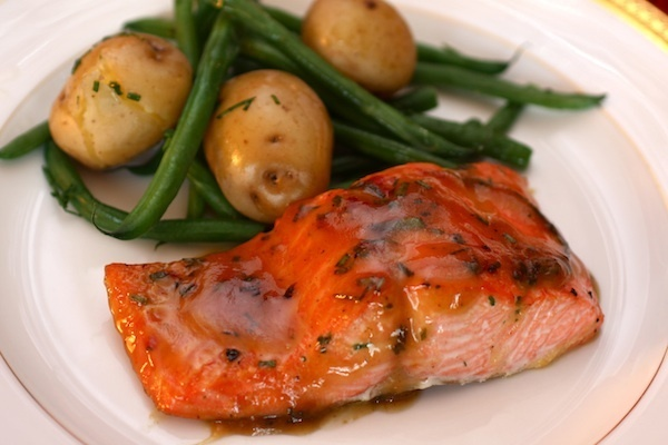 ... Salmon with Chive New Potatoes & Green Beans with Julie Anne Rhodes