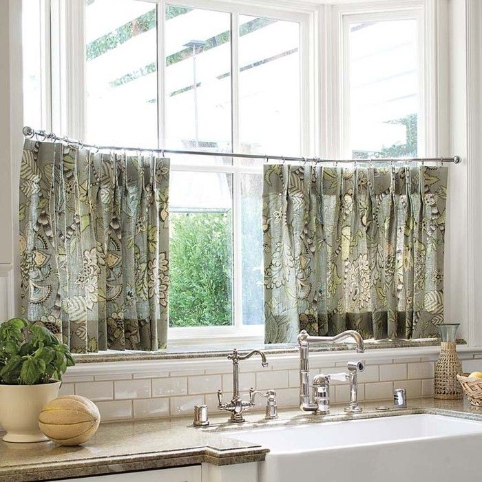 Cafe curtains home kitchen pinterest for Cafe curtains for kitchen ideas
