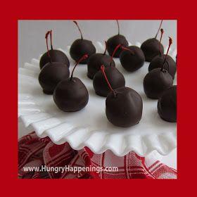 ... Happenings: Valentine's Day Dessert - Sweet Chocolate Cherry Bombs