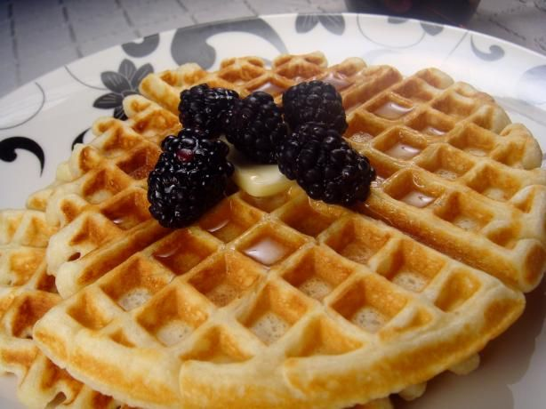 Easy Buttermilk Waffles - made 'em today - hubby said keep the recipe ...