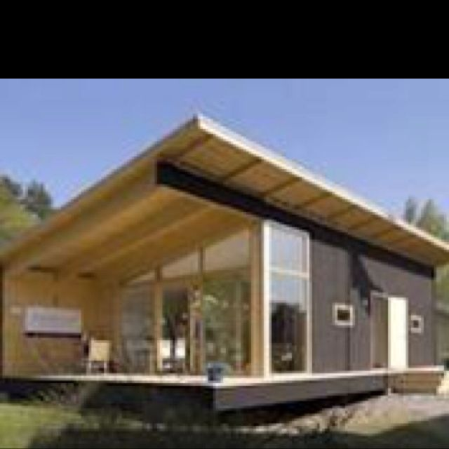 Modern Log Cabin My Cabin Pinterest