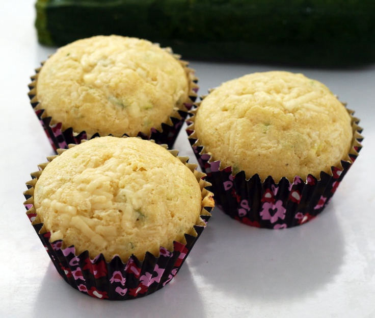 ... the chili. Coconut & Lime: Cheddar Topped Zucchini Cornbread Muffins