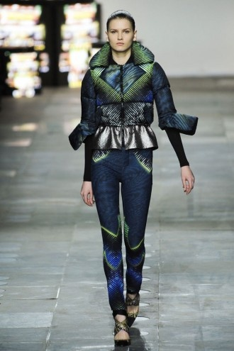 in love with this jacket by Peter Pilotto / London Fashion Week F/W ...
