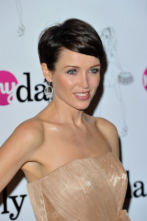 Kylie Minogue Brown Hairstyles for Medium Hair 2013 recommend
