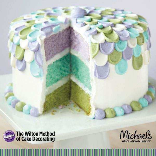 Michaels Cake Decorating Class Sign Up : Pin by Traci Tenkely on Buttercream Cake Ideas Pinterest