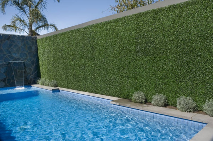 Artificial Hedge Privacy Screen Landscaping Pinterest