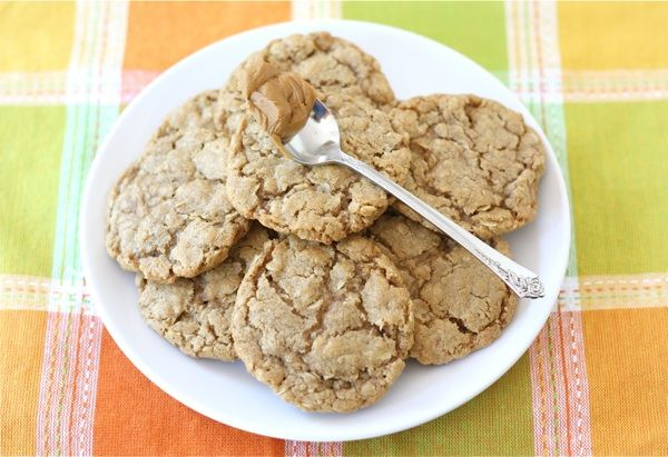 biscoff oatmeal cookies (biscoff is a spread the consistency of peanut ...