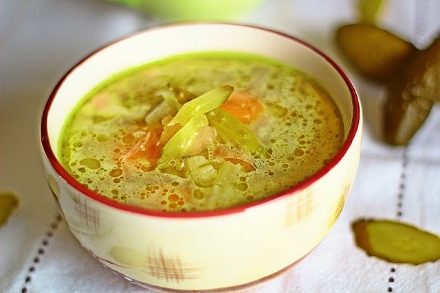 Cucumber Soup | Polish food | Pinterest