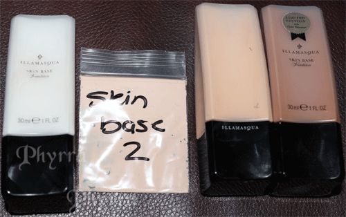 Illamasqua Skin Base Review & Swatches in 1, 2, 4 and Au. Click through to read!