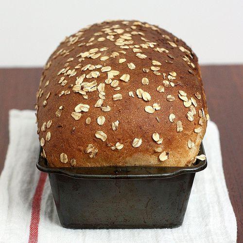 Whole Wheat Oatmeal Buttermilk Bread | Yummy Bread | Pinterest