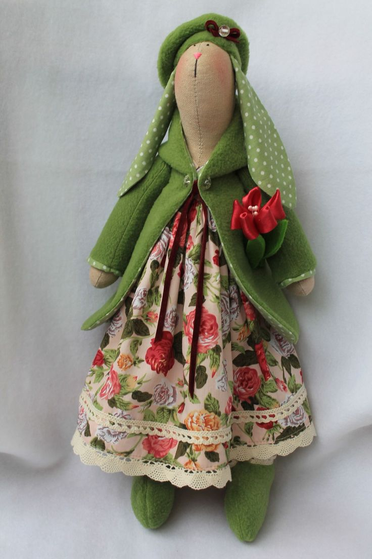 Тильда заяц мастер-класс в платье