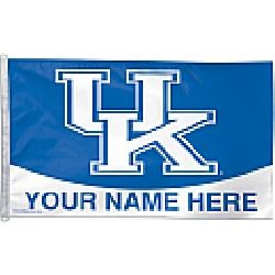 Wincraft Kentucky Wildcats Personalized 3x5 Flag