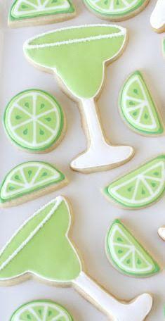 Margarita Cookies {Decorating How-To