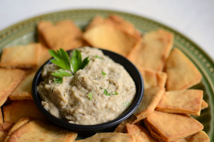 Baba Ganoush (Roasted Eggplant Dip) | Recipe