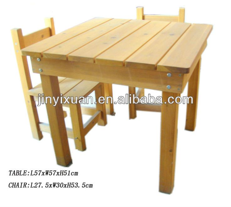 child sized square kids study table chair wooden picnic table