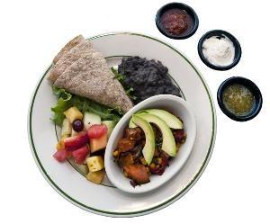 Beans 'n Barley (milwaukee) sweet potato & black bean burrito recipe