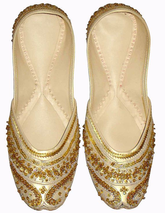 women+shoes+indian+shoes+khussa+shoes+flat+by+indianshoesjewellery