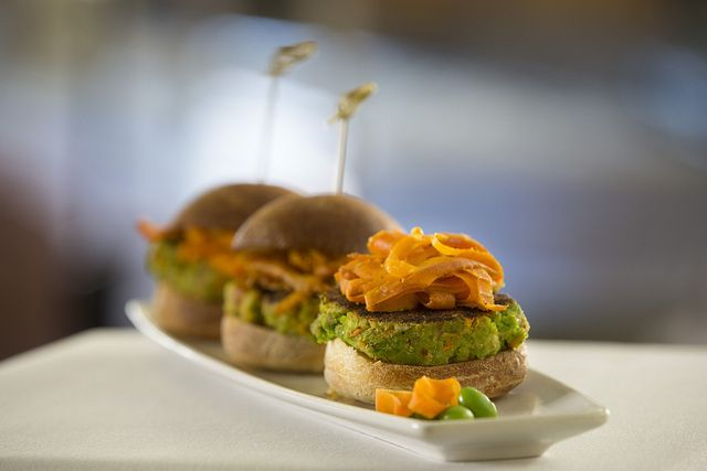 Earth Day Recipe: Edamame Burgers with Sumac-Spiced Carrot Curls | Try ...