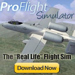 Now YOU Can Experience Real Flying with ProFlightSimulator- The Most Realistic Flight Sim Ever Created!