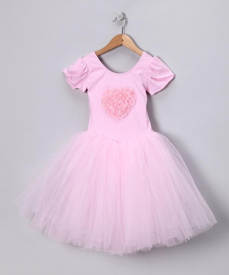 Light Pink Ballerina Tutu Dress - Toddler & Girls
