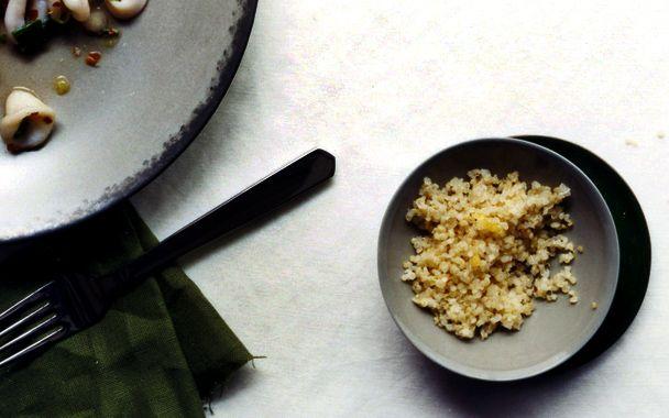 Lemon-Scented Quinoa: gourmet.com | Pasta, Rice & Grains | Pinterest