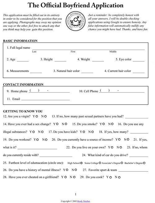 Application for dating my niece