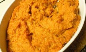 Mashed Miso Sweet Potatoes | GFFL | Pinterest