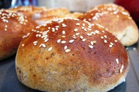 Honey Whole Wheat Sandwich Buns | Potato Harvest Food Ideas | Pintere ...