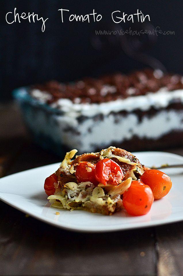 Cherry Tomato Gratin | Food for the Soul | Pinterest