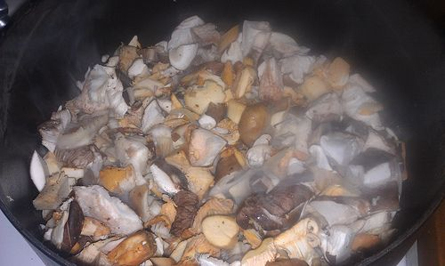 Wild Mushroom Chowder | Food | Pinterest