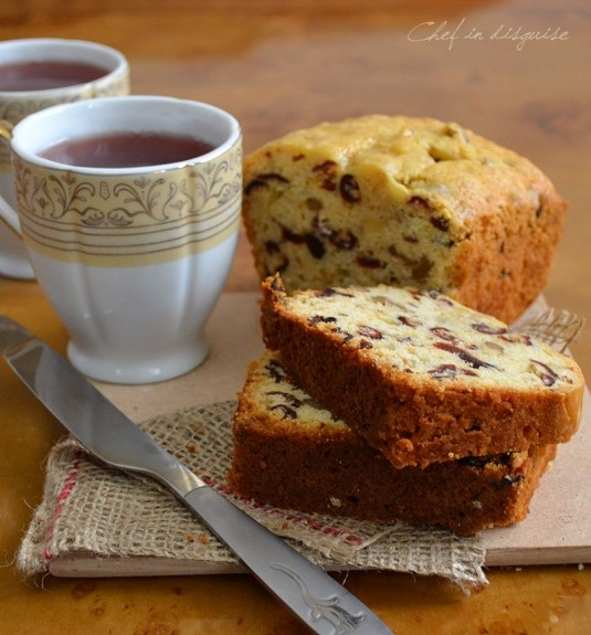 Cranberry walnut bread | Recipes: Quick Breads and Muffins | Pinterest