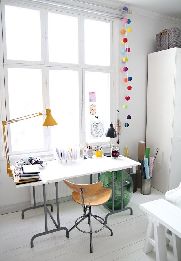Foch z przytupem home office jak urz dzi biuro w domu - Integrar escritorio en salon ...