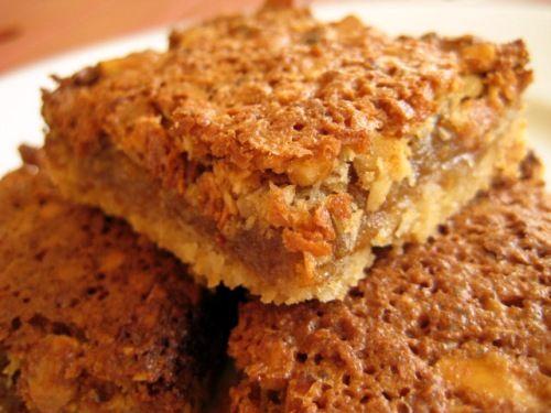 Caramel Walnut Slice | Cookies & Bars | Pinterest