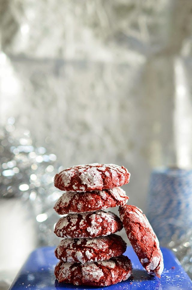 Chocolate Crinkle Cookies images