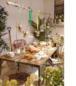 hangend buffet fun ideas Pinterest