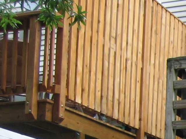 Deck Privacy Wall Outdoor Living Pinterest