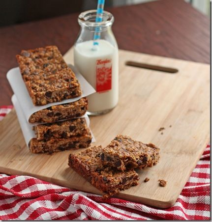 Chewy Granola Bars 1 2/3 cups quick rolled oats (if gluten-free, be ...